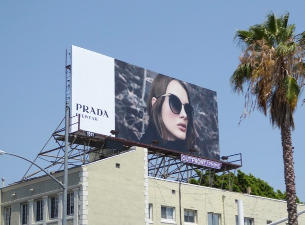 Prada Eyewear Summer 2017 billboard