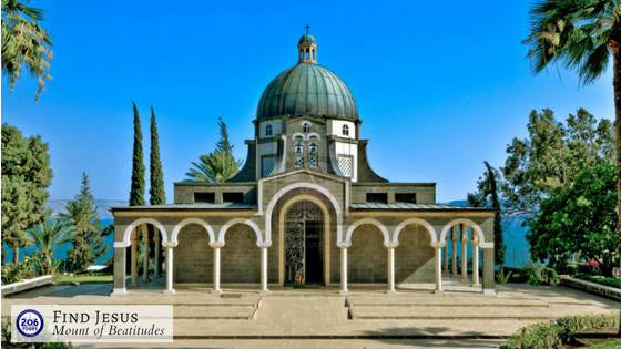 206 Tours - Holy Land - Mount of Beatitudes