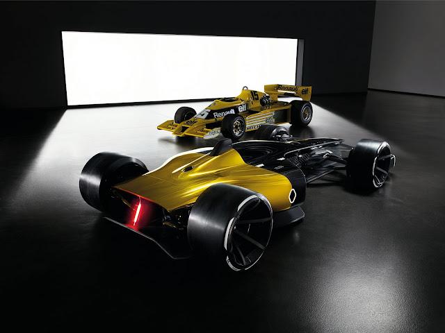 2017 Renault 2027 F1 Car Vision Concept - #Renault #F1 #Vision #Concept_car #motorsport