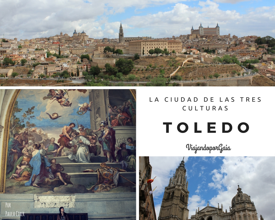 La ciudad de las tres culturas: Toledo (portada)