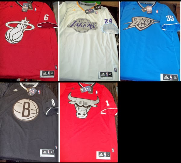 f2746eeee the other paper  NBA teams to wear sleeved uniforms for Christmas ...