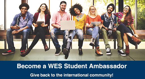 Join the WES Student Ambassador Program