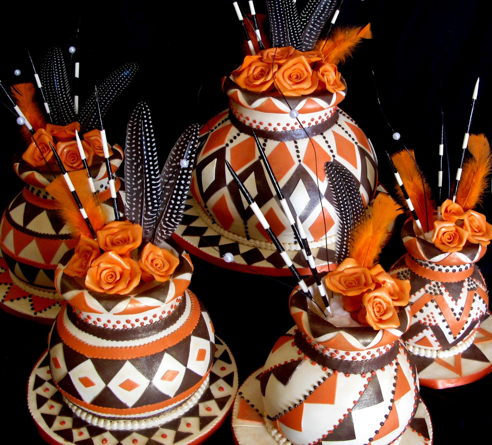 traditional african wedding cakes pictures sugarcraft by soni traditional five pots 21120