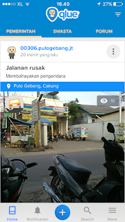 Aplikasi Qlue Teman Apa Lawan Kota Jakarta??