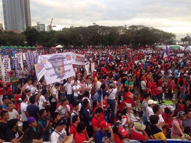 WATCH LIVE: People's Rally at Quirino Grandstand #UnitedDDS