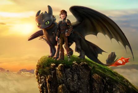 Hantu Baca Film Animasi Terbaik Piala Oscar Tontonan Keluarga How to train your dragon