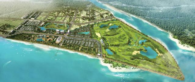 Phối cảnh tổng thể dự án FLC Sầm Sơn