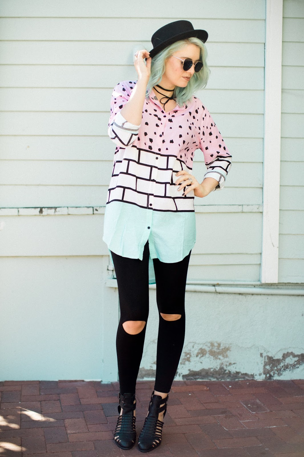 Peek-a-Boo Leggings, Utah Fashion Blogger, Modest Outfit