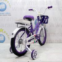 16 evergreen violet ctb sepeda anak