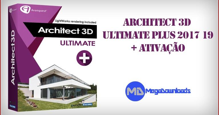 Download architect 3d ultimate plus 2017 19 0 Virtual architect ultimate home design 7