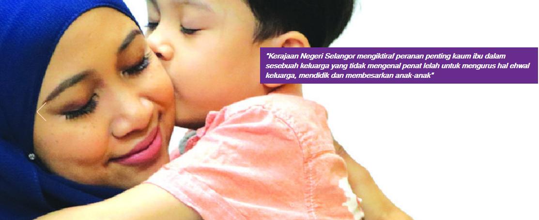 Borang permohonan Kasih Ibu Smart Selangor (KISS) Online