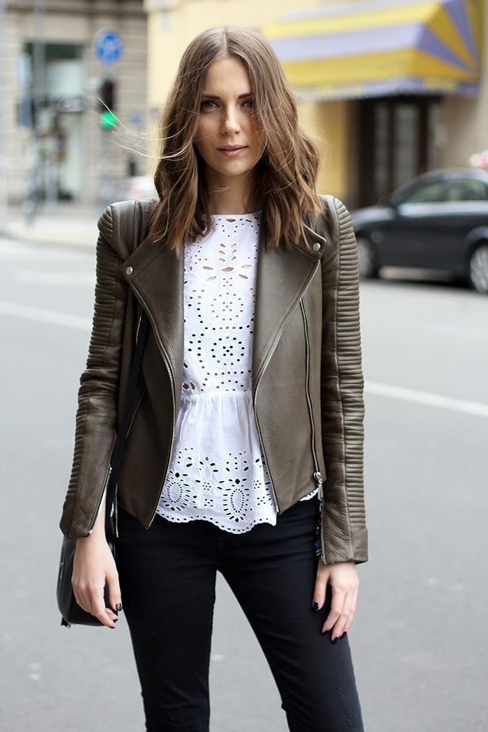 62 Style Tips On How To Wear A Leather Jacket How To Wearing