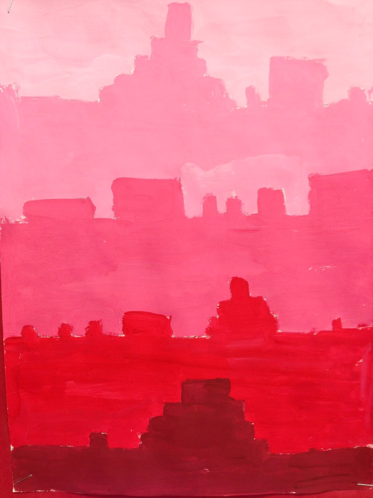 Art From One Thousand Hearts: Shades and Tints Landscapes