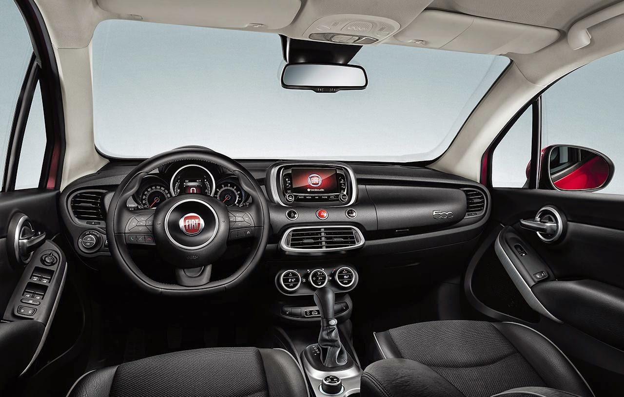 "Novo Fiat 500X: Estreia mundial do ""mini-coss"""