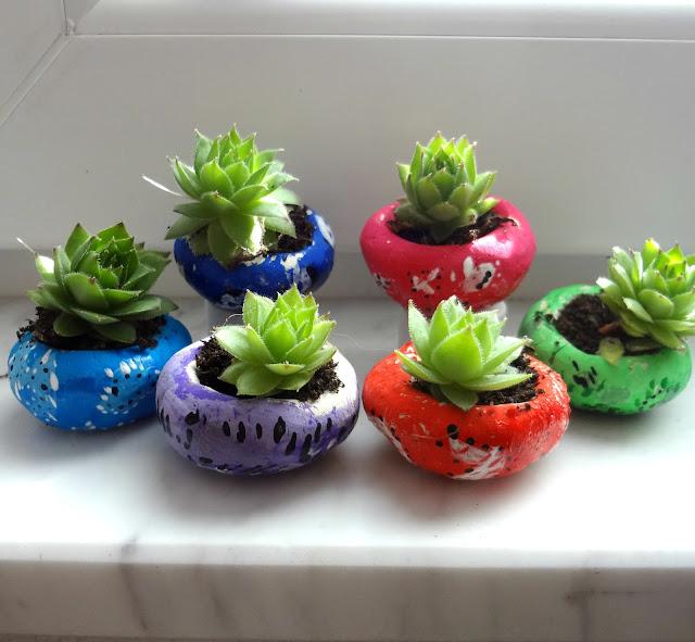 DIY: Mini Succulent Clay Bowls