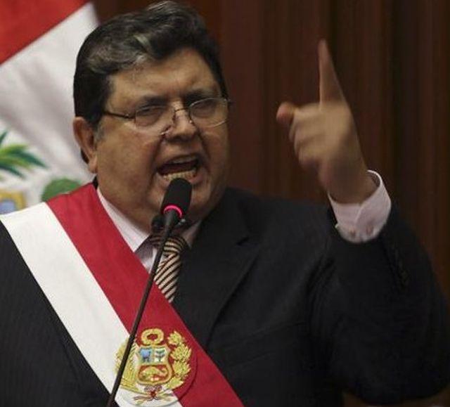 alan garcía ex presidente del Perú