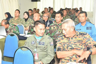 148 Prajurit TNI, ATM dan PDRM Ikuti Diskusi Bencana Alam Latgabma Malindo