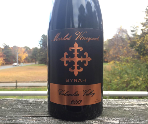 Market Vineyards Dividend Syrah 2013