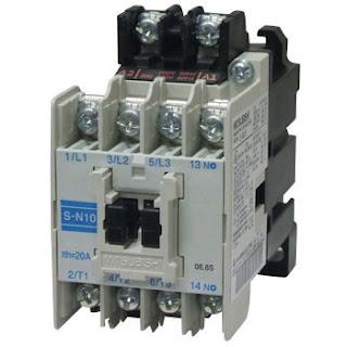 Pengertian Kontaktor listrik dan prinsip kerjanya