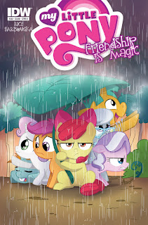 MLP Friendship is Magic #39 IDW Cover A By Agnes Garbowska