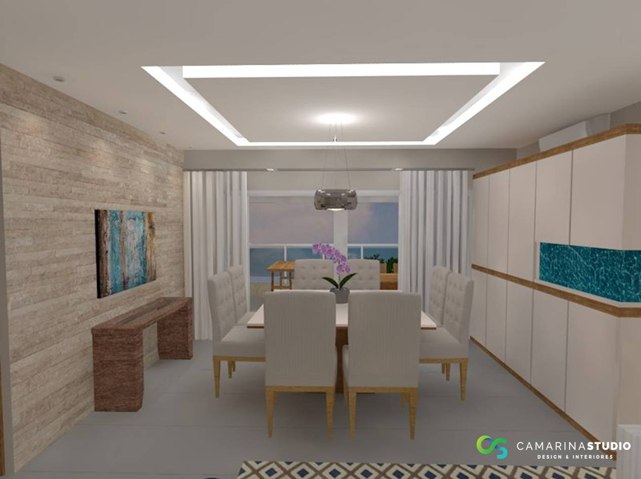 Camarina Studio Arquitetura Design Interiores Projeto Sala