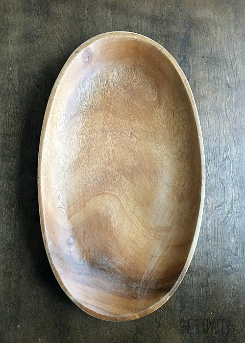 wooden bowl, scratched wooden bowl