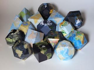 Belajar Proyeksi Peta Dengan Kerajinan Tangan