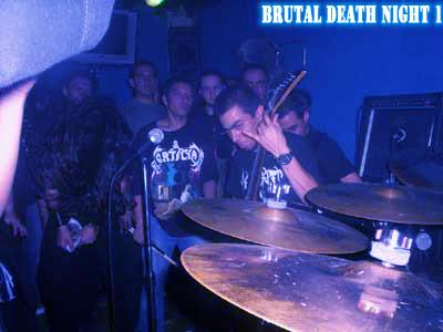 brutal death night 1, una de las bandas mas importantes del género metal colombiano