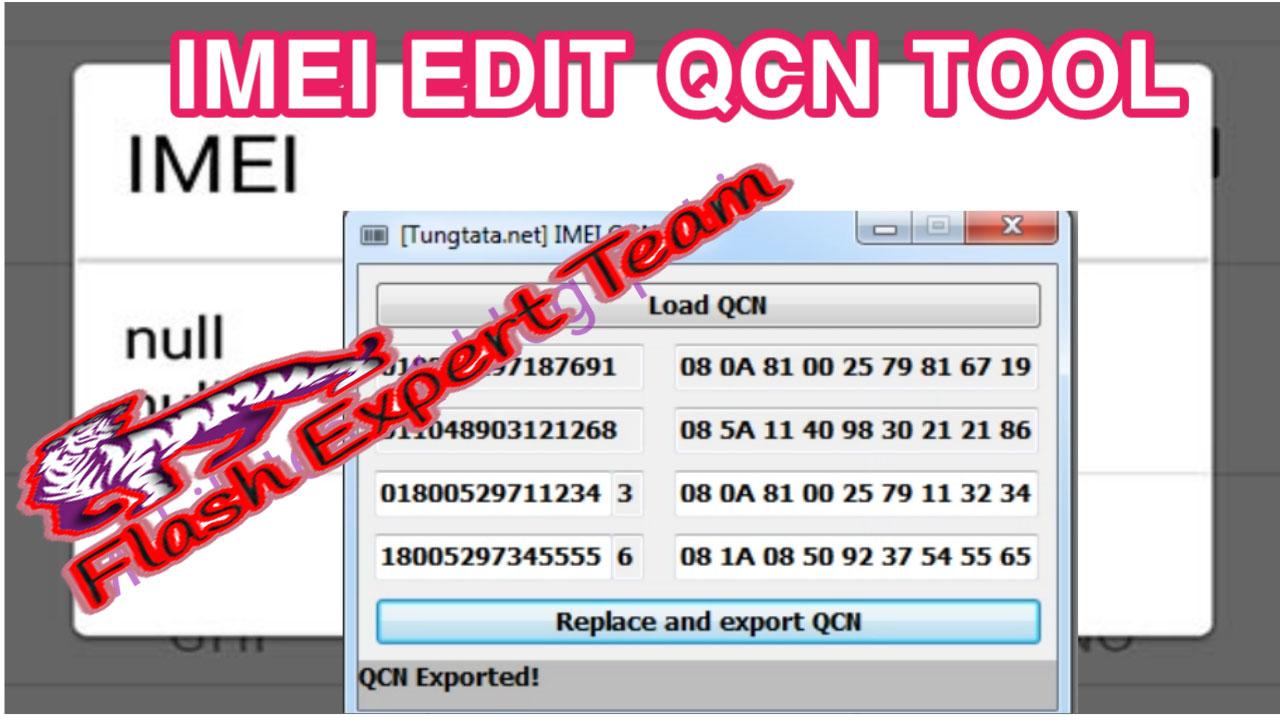 Qualcomm IMEI QCN File Editor | QCN or Hex Edite | IMEI