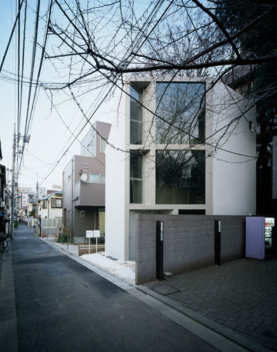This japanese architectural firm did wonders for the views of this single family home in the outskirts of tokyos metropolis now the exterior of this home