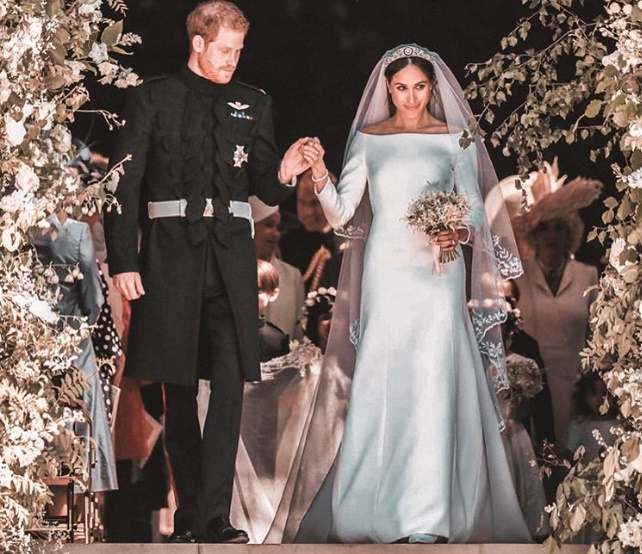 Prince Harry and Meghan Markle Wedding Pics, Images