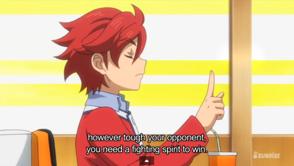 My master told me, however tough your opponent, you need a fighting spirit to win. - Sekai Kamiki