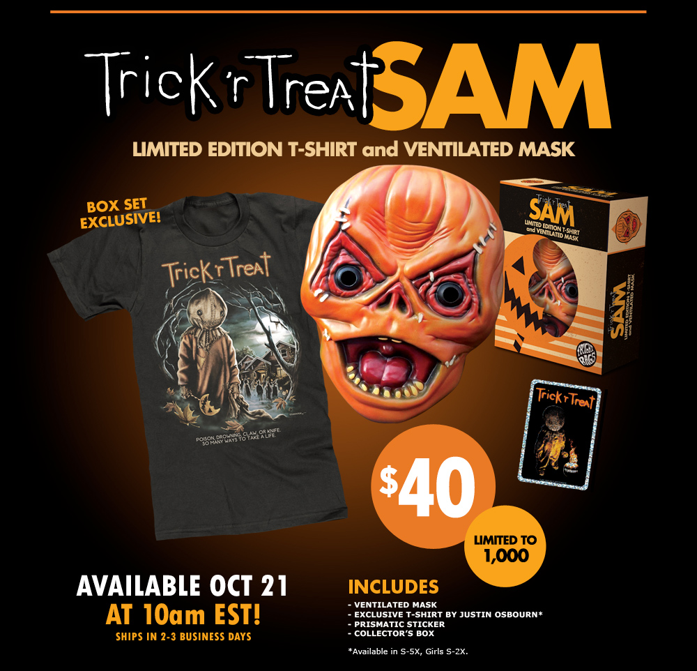 Fright-Rags Releasing 'Trick 'r Treat' T-Shirt Collection