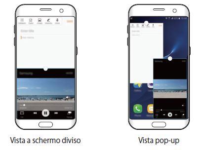 Multischermo su Samsung Galaxy S7