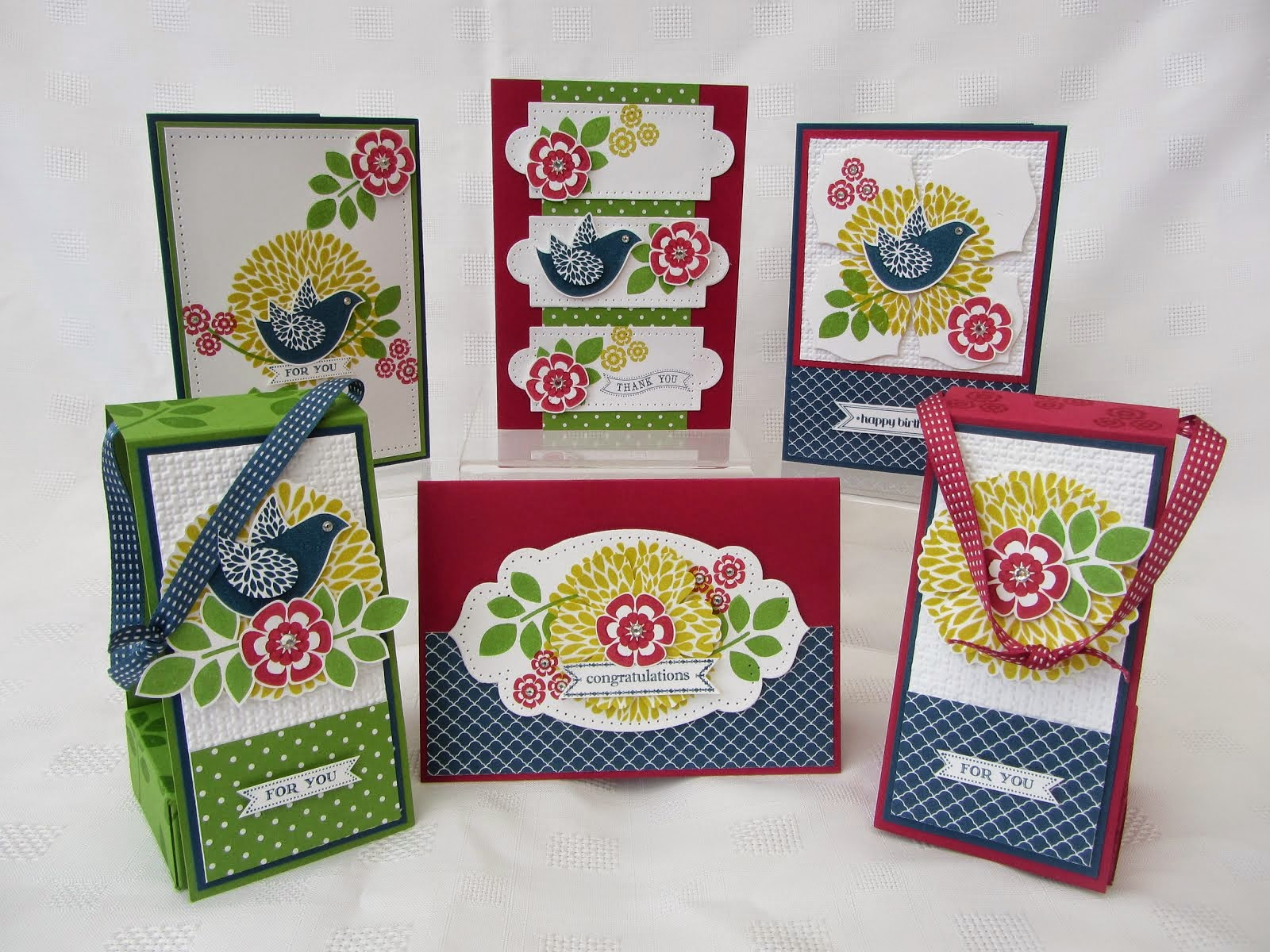 Betsys Blossom Stamp Class