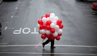 Balloons are not the most popular Valentine's Day gift.