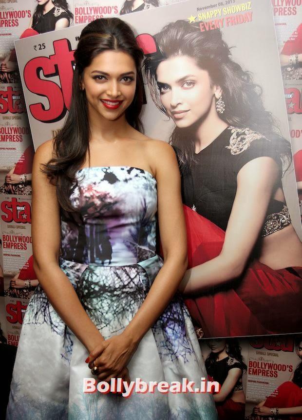 , Deepika Padukone Launches Star Magazine Cover