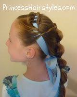 Disney princess Jasmine hair