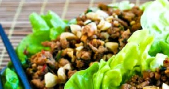 Kalyn's Kitchen®: Asian Lettuce Cups with Spicy Ground ...