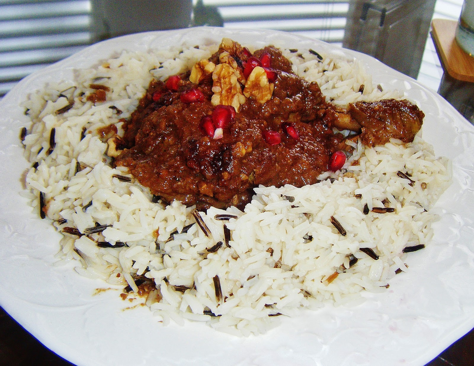 Fesenjan - Persian Chicken in a Walnut & Pomegranate Sauce ...
