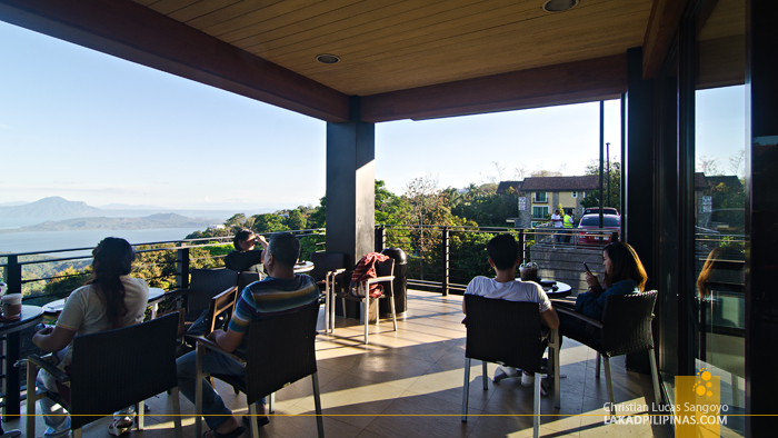 Starbucks Tagaytay Downhill Al Fresco Balcony