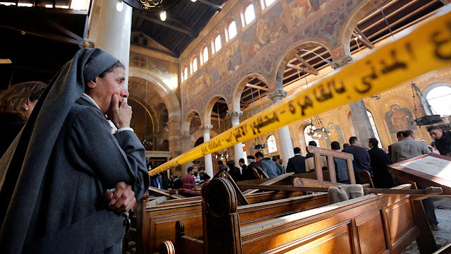فيديو ... 7 نقاط هامة جدا توضح كيف تم تفجير الكنيسة البطرسية بالعباسية