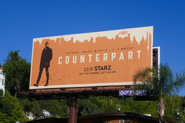 Counterpart season 2 billboard