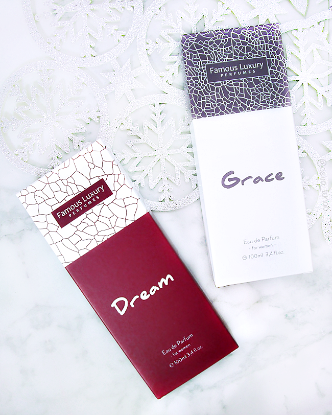 Famous Luxury Perfumes - Dream - Paco Rabanne Olympea - Grace - Coco Mademoiselle