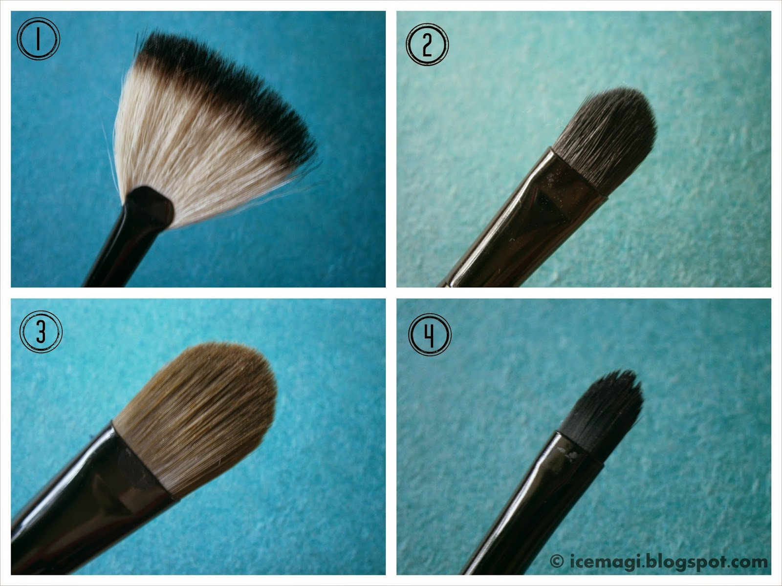 Oriflame makeup brushes