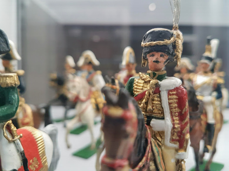 軍事博物館內的展品,不是很精細呢