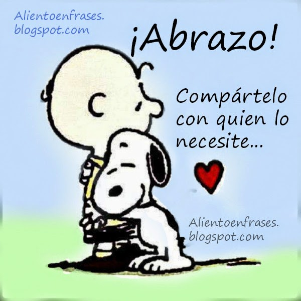 Charlie Brown Y Snoopy Abrazo Imagui