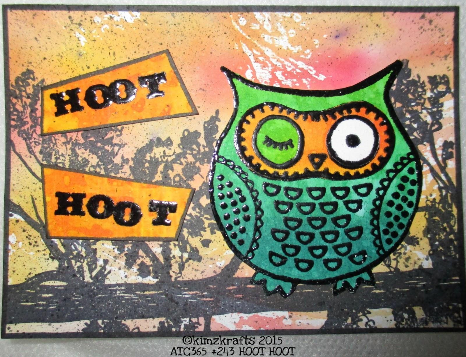 Kimzkrafts Atc365 243 Hoot Hoot