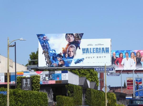 Valerian extension movie billboard