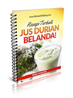 Resepi Jus Durian Belanda